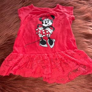 Disney Toddler Girl Minnie Mouse Top 2T!